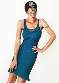 Network Dress SPRING 2013 by Myrrhia on Etsy, $135.70