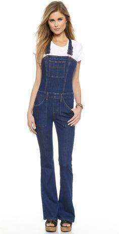 Joe's Jeans Charlie Flare Overalls | SHOPBOP