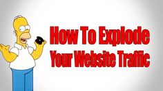 How To Explode Your Website Traffic - My Increasing Traffic 65 Killer Tips