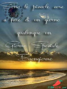 Buongiorno Immagini Whatsapp 433 Italian Greetings, Good Day, Movie Posters, Coffee, Link, Smile, Frases, Home, Te Amo