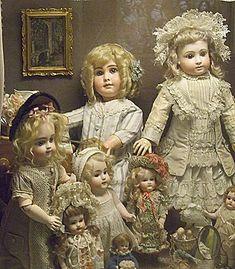 amourdespoupees, poupendol=poupees, puppen, dolls #antiquedolls