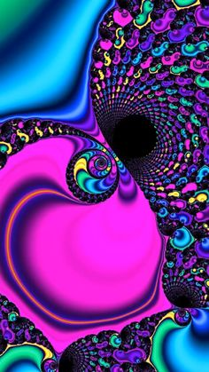 Trippy Spiral Zoom – Fractal Animation Do you love trippy Fractal Art? This colorful Spiral is for sale as high-quality Print (on metal, acrylic, canvas or photo paper). Trippy Gif, Trippy Wallpaper, Live Wallpaper Iphone, Galaxy Wallpaper, Trippy Videos, Art Fractal, Fractal Images, Art Hippie, Psychadelic Art