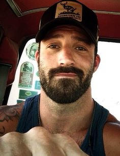 I wish I could rock a beard like so many men can. I tried and it's doesn't work for me but this post is inspired by all the hot bearded men I have seen here in Provincetown this week. (Including the first photo of a very sexy Brian Sims! Hot Men, Sexy Men, Hot Guys, Hairy Men, Bearded Men, Sexy Bart, Great Beards, Beard Tattoo, Moustaches