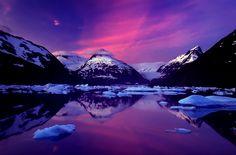 Dawn at Portage Lake, Alaska by Carlos Rojas on 500px