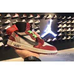 fc4cc01e3e81 Off-White X Air Jordan 1 High Og 10X Chicago White Black-Varsity Red Latest