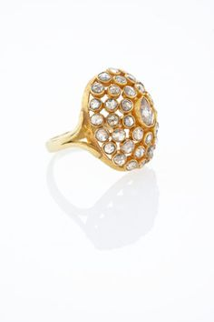 Diamond and Gold Ring Diamonds And Gold, Druzy Ring, Gold Rings, Jewellery, Jewels, Schmuck, Jewelry Shop, Jewlery, Jewelery