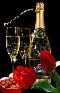 Good Night Sweet Dreams, Champagne Bottles, Alcoholic Drinks, Tableware, Glass, Bacon, Humor, Te Amo Mi Amor, Happy Birthday
