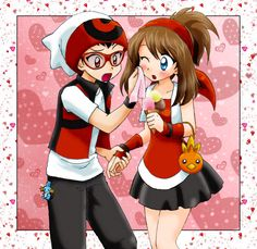 Pokemon Sapphire and Ruby #Franticshipping