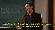 Most importantly, Mr. Turner is still full of wisdom and important life lessons.