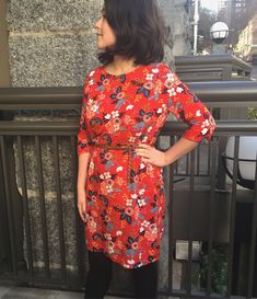 Ultimate Shift Dress in Rifle Paper Co fabric