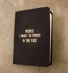 People I want to punch in the face by 27thStreetPress on Etsy - StyleSays