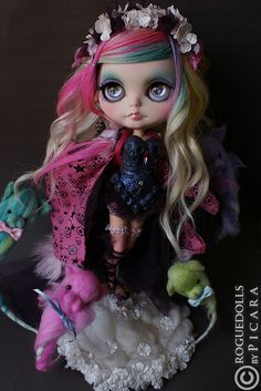 Custom Blythe doll by Picara of Roguedolls