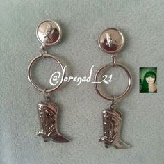 I just discovered this while shopping on Poshmark: Cowboy Boots Drop Earrings. Check it out!  Size: OS