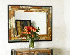 Urban Chic Mirror  (Hangs landscape or portrait)