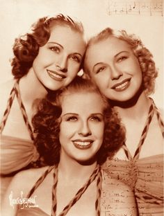 In 1939, Berl Olswanger and the Tanner Sisters toured the country with the George Olsen Orchestra, one of the big bands of the era. The following year the Tanner Sisters appeared on Broadway in an Al Jolson musical comedy. While performing on Broadway, Betty, Martha, and Mickey Tanner commissioned Berl to do arrangements for them. Berl managed to supervise the orchestration by putting together a local trio in Memphis and teaching them the identical arrangements. www.BerlOlswanger.com