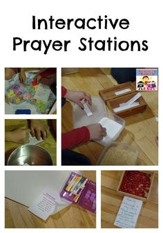 Interactive Prayer stations Like the idea of the Forgiveness one (maybe link to healing for reconciliation) and Family Prayer Corner, Prayer Wall, Prayer Room, Prayer Board, Sunday School Kids, Sunday School Lessons, Sunday School Crafts, Prayer Crafts, Bible Crafts