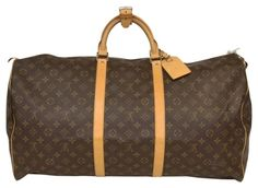 9b271e000ee5 Louis Vuitton Signature Keepall 60 Large GM Duffle Travel Bag