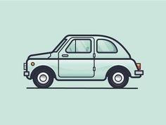 Fiat 500 by Scott Tusk