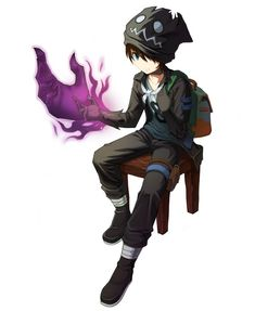 Young Elijah Smith first using his shadow powers on purpose. Fantasy Character Design, Character Design Inspiration, Character Concept, Character Art, Anime Fantasy, Dark Fantasy Art, Dnd Characters, Fantasy Characters, Chica Anime Manga