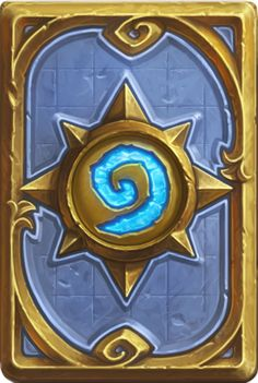 This is the Hearthstone card back, illustrating that I am talking about the Hearthstone online TCG.