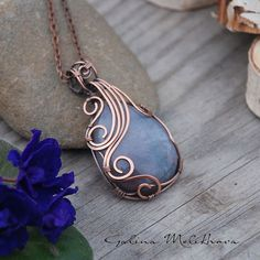 Pendant with Jasper | by galinapisareva