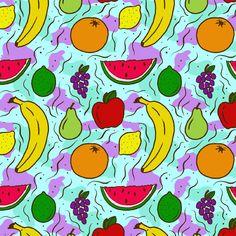 Fruit Pattern by Josh LaFayette