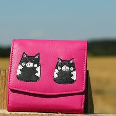 4ed55dec37 Pink Cat Gifts, Cat Lover Gifts, Cat Lovers, Cat Design, Leather Purses