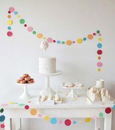 Una fiesta infantil delicada y elegante