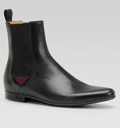 e2646afa62e Gucci - Bootie w  Signature Web Detail Gucci Boots