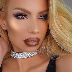 WEBSTA @ makeupaddictioncosmetics -  That glow is surreal! @nikkifrenchmakeup…
