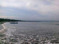 Teluk penyu beach, Cilacap, Central Java.