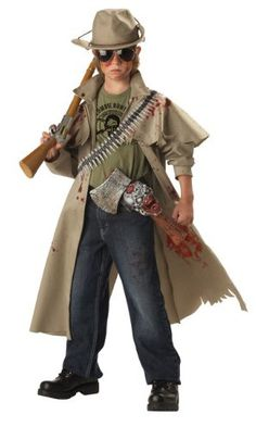 You'll be prepared to take on the living dead when you wear this scary zombie hunter kids costume. Be ready for the zombie apocalypse when you wear this scary zombie hunter kids costume! Zombie Hunter Halloween Costume, Hunter Costume, Scary Halloween Costumes, Boy Costumes, Halloween Costumes For Kids, Zombie Costumes, Costume Ideas, Halloween Party, Cheap Halloween
