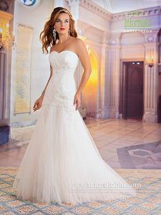 mary's bridal 2551 - Size 16 Ivory