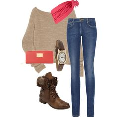 A fashion look from July 2011 featuring The Row sweaters, jeans and Steve Madden boots. Browse and shop related looks. Outfits Otoño, Fall Outfits, Fashion Outfits, Fashion Ideas, Over Boots, Facon, New Wardrobe, Autumn Winter Fashion, Fall Fashion