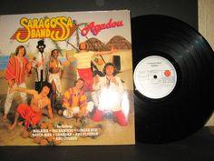 Saragossa Band - Agadou GER 1981 Lp near mint