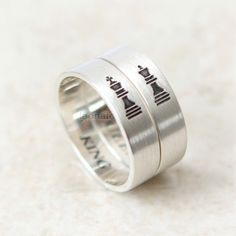 Vertical King and Queen Ring in sterling silver,Couples Ring--Custom Personalized Ring, Chess Piece by laonato on Etsy https://www.etsy.com/listing/212992751/vertical-king-and-queen-ring-in-sterling