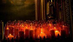 Catholic prayer candles