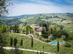 Charming medieval hamlet on top of the Chianti Hills Poggio al Sorbo Castellina In Chianti, Siena, Italy – Luxury Home For Sale