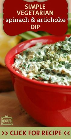 The Chew crew went Back to Basics with some classic dishes to go, including dips and appetizers. Try this simple Spinach Artichoke Dip, from Clinton Kelly. It's perfect for snacking before a special dinner. http://www.recapo.com/the-chew/the-chew-recipes/the-chew-thanksgiving-spinach-artichoke-dip-crab-dip-turkey-salad/