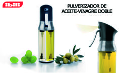 We love our new oil-vinegar sprayer . Allows perfect distribution without wasting it. You'll see the difference!