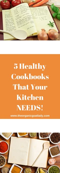 Are there any healthy cookbooks that are full of awesome recipes from cover to cover?! Get ready to do the happy dance! I have found five Cookbooks that...