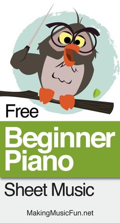 Print Beginner piano sheet music for FREE on MakingMusicFun. Each graded piano solo in our collection is professionally arranged to gives students their best chance for success. Learn Piano Beginner, Beginner Piano Music, Beginner Piano Lessons, Piano Lessons For Kids, Music Lessons, Kids Piano, Easy Piano, Art Lessons, Reading Piano Sheet Music