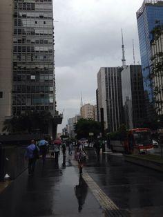 Avenida Paulista em São Paulo, SP
