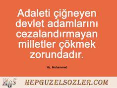 Hz Muhammed'in Adalet Üzerine Sözleri Islam, Words, Facebook, Horse