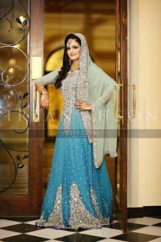 Beautiful Pakistani Bridal Dresses New Collections 2013