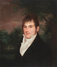 Portrait of Anthony Groves by James Peale