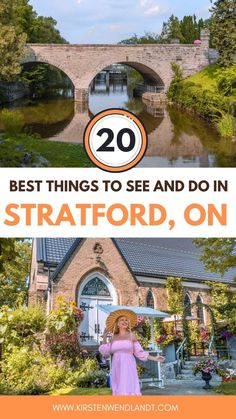 Looking for the perfect getaway from Toronto? At only a 1.5 hour drive from Toronto, Stratford is the solution you've been looking for. This post includes all of the best things to do in Stratford to help you plan your perfect weekend away. From activities and attractions, to the top restaurants, bars, and all the things you'll want to see while there. Ontario Travel, Toronto Travel, South America Destinations, Travel Destinations, Travel And Tourism, Usa Travel, Travel Guides, Travel Tips, The Perfect Getaway