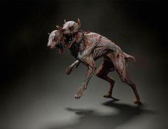 Zombie Skinned Dog