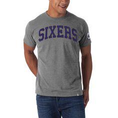 6d5dfb8e03db Philadelphia 76ers Grey Fieldhouse t-shirt