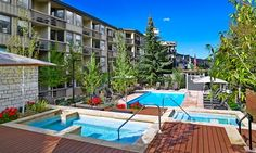 Aspen-area resort with gourmet dining and outdoor pools overlooking Snowmass Mountain
